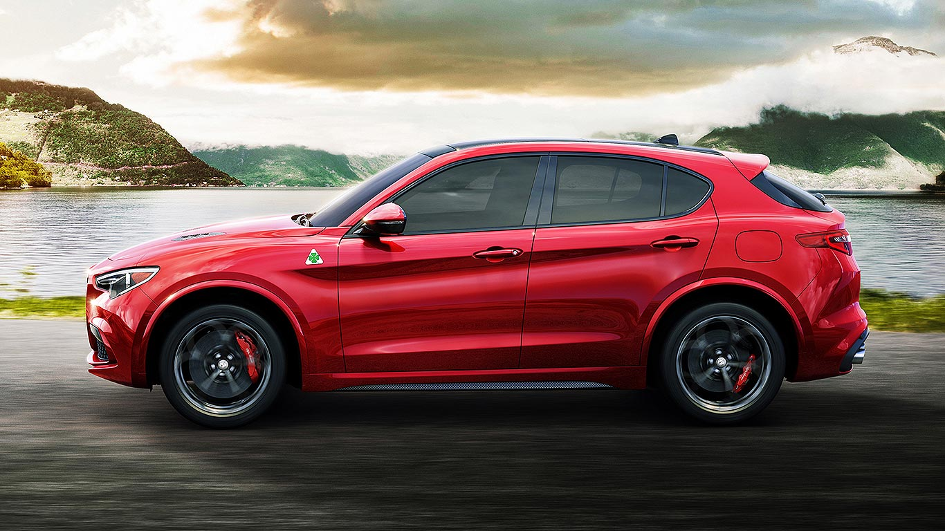 alfa romeo stelvio suv revealed at la auto show motoring research. Black Bedroom Furniture Sets. Home Design Ideas
