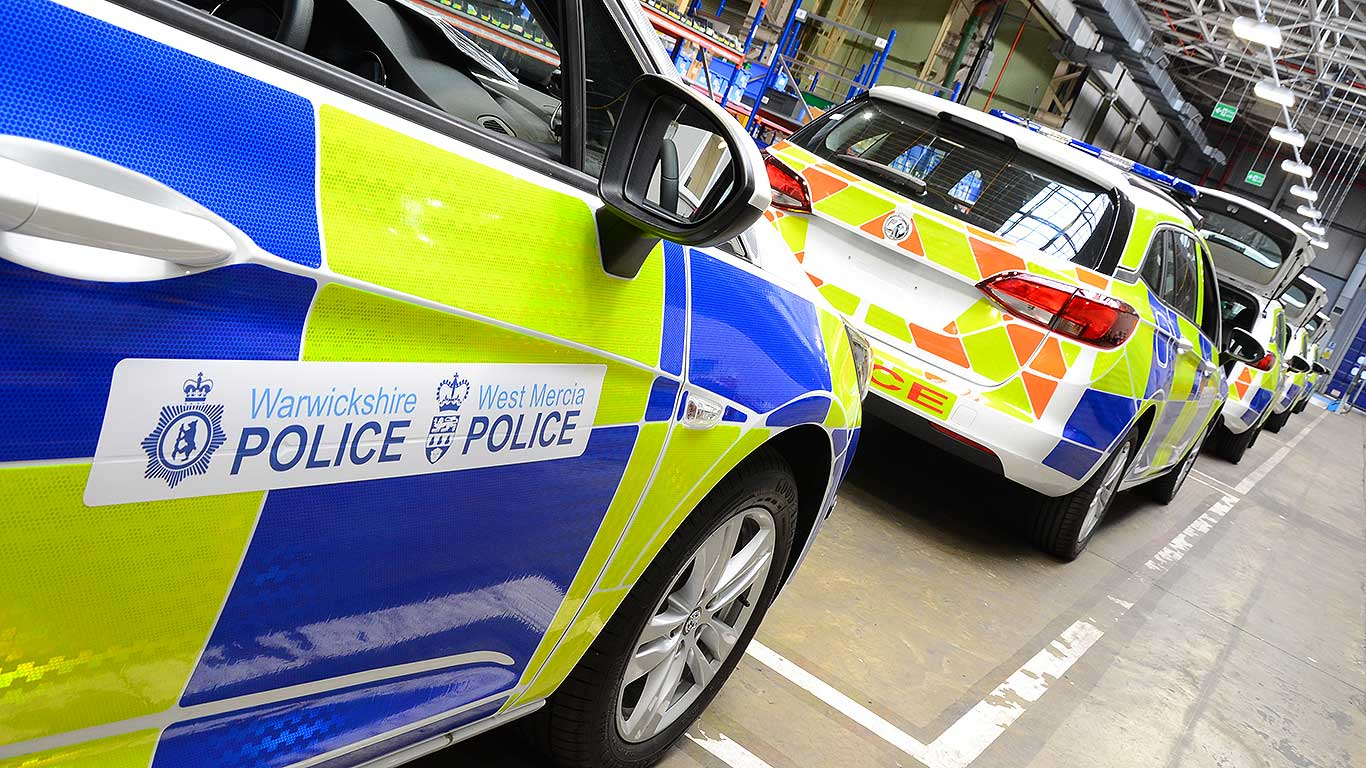 New Vauxhall police car factory
