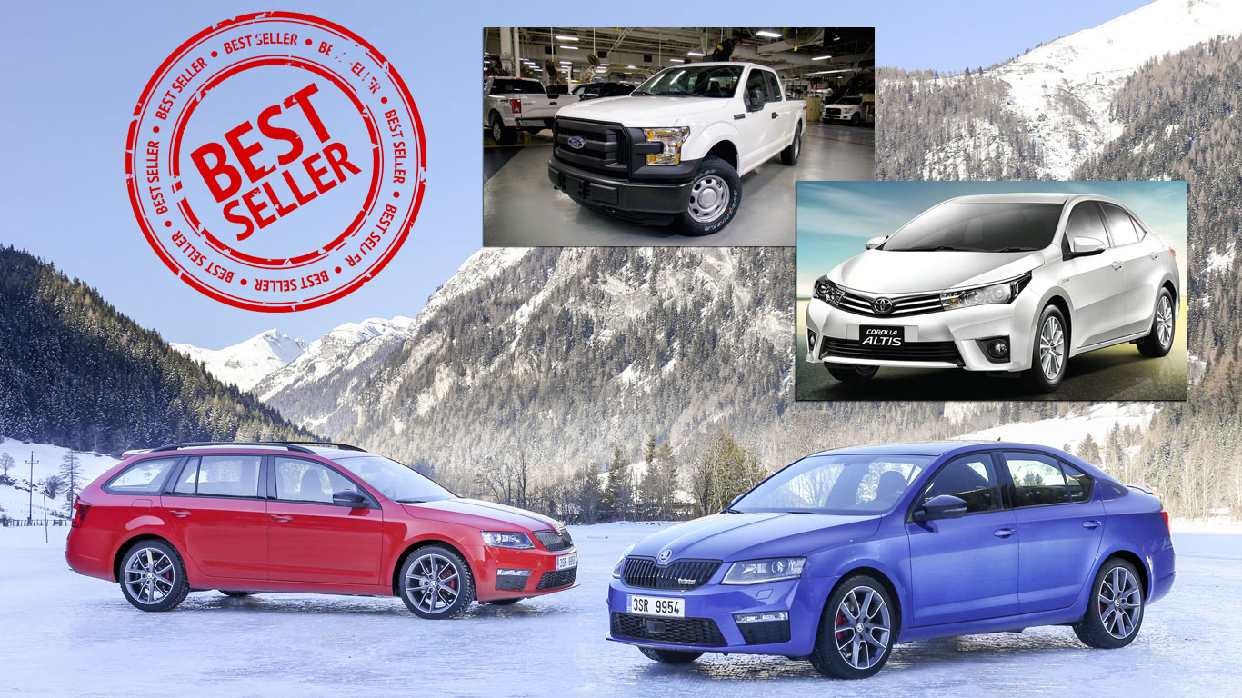 The best-selling cars around the world