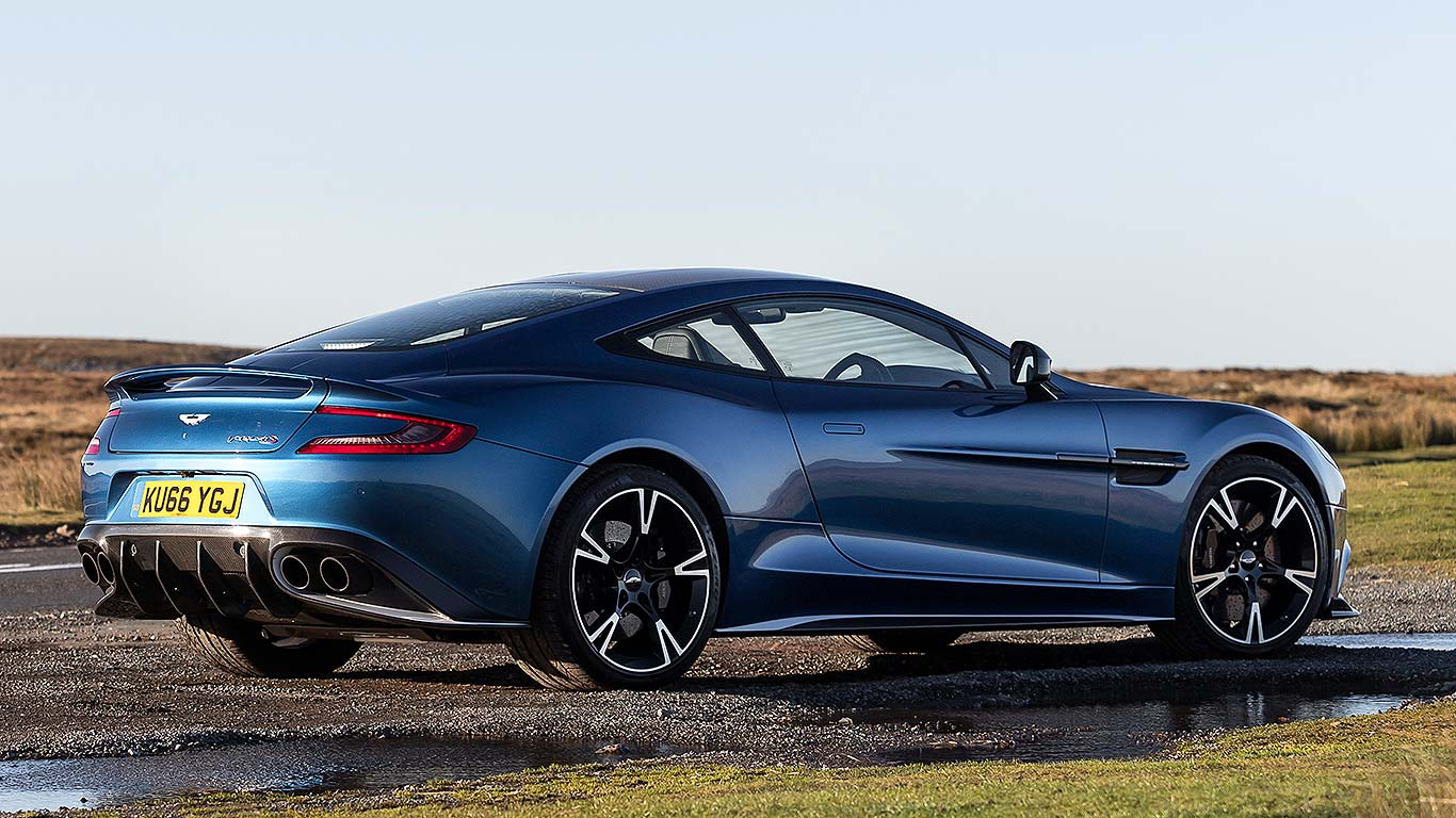 Aston Martin Vanquish S Review A GT Great Motoring Research - Old aston martin vanquish