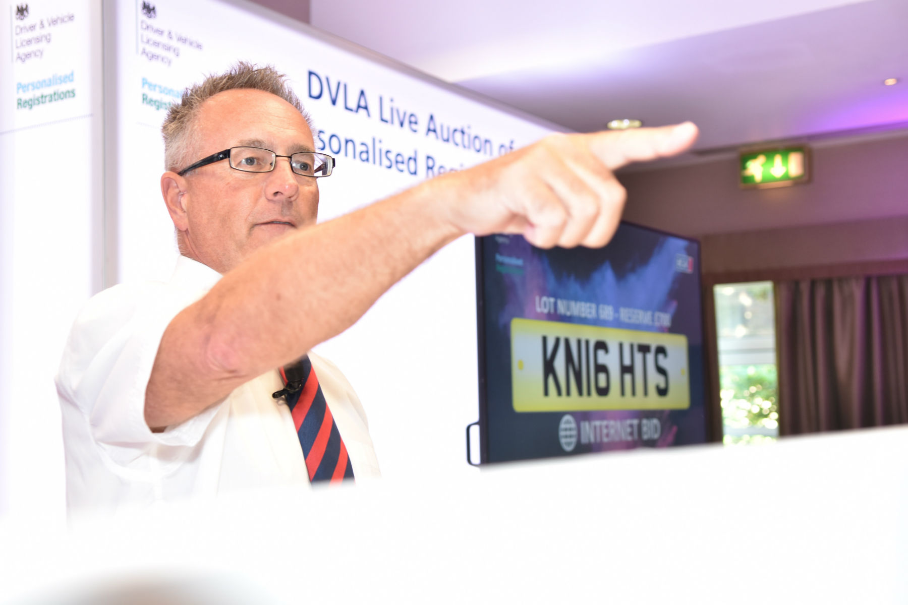 Behind the scenes at the DVLA's £5.1m number plate auction