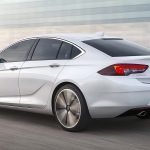 The swoopy rear hatch design is key to Vauxhall's claim this is more of a four-door coupe, similar to the Audi A5 Sportback, than a normal hatchback.