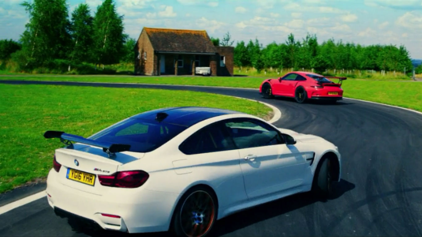 Porsche 911 GT3 RS vs BMW M4 GTS