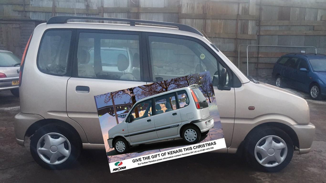 Perodua Kenari – £750