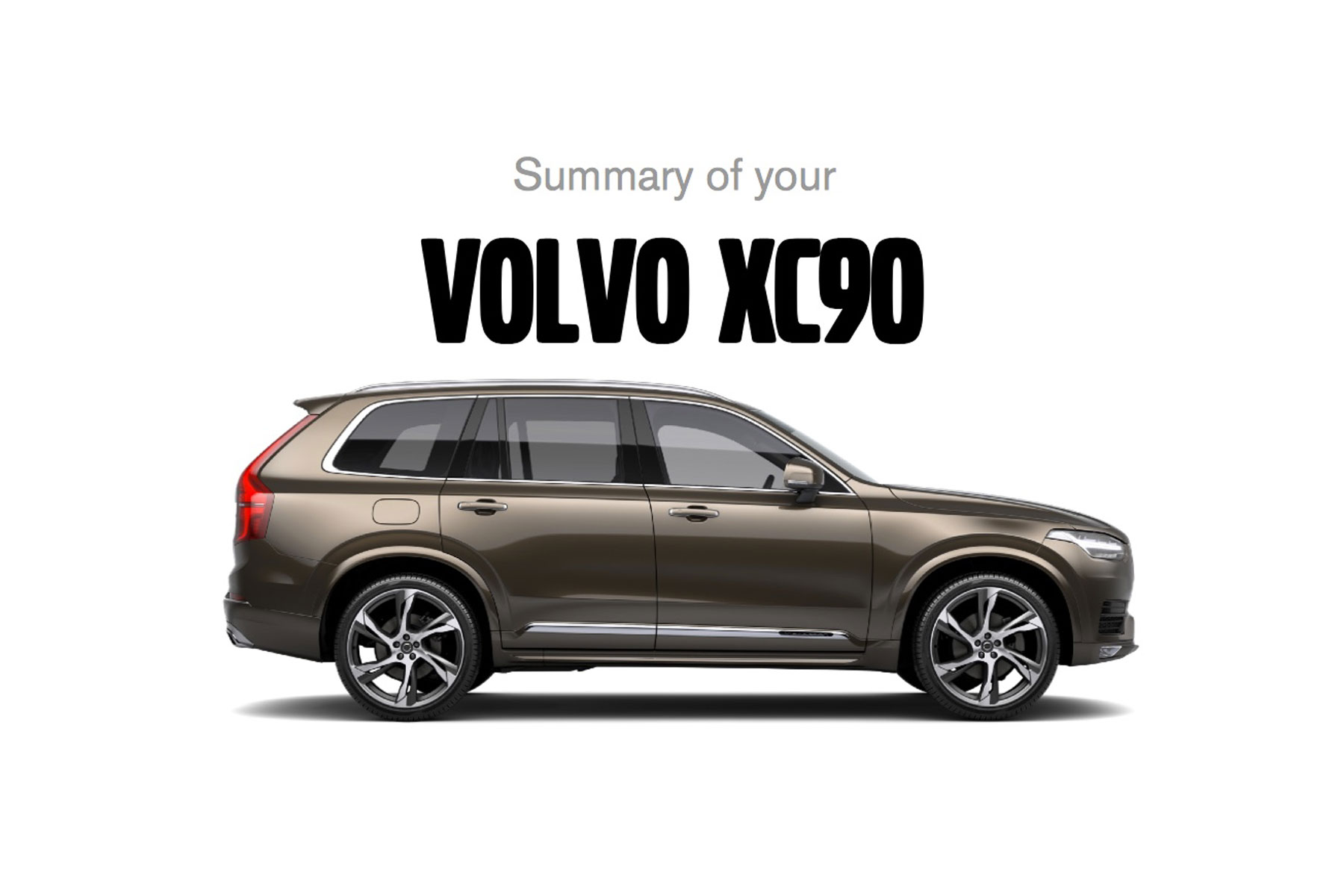 My ideal Volvo XC90