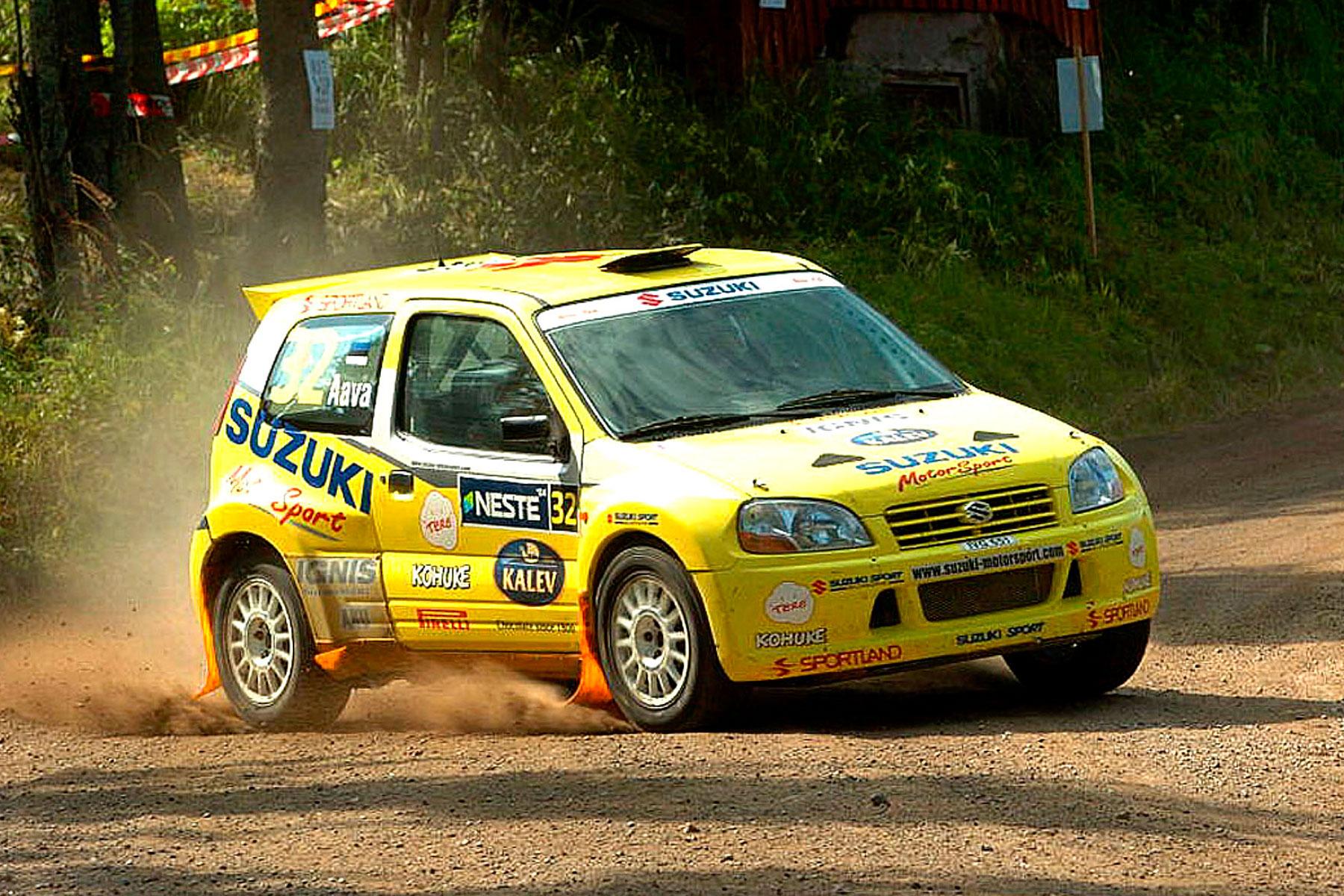 Suzuki Ignis JWRC