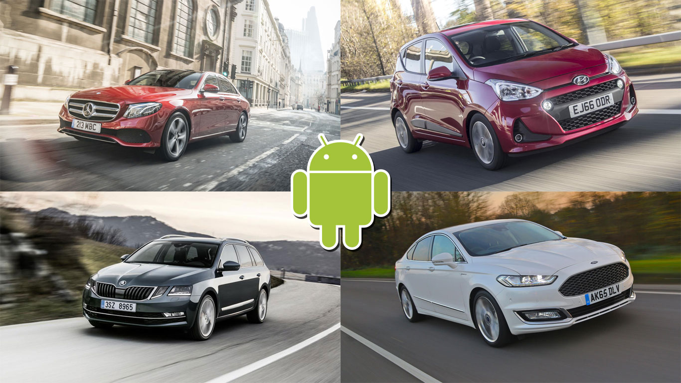 The top 10 cars available with Android Auto in the UK