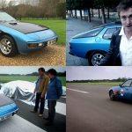 Richard Hammond's £750 Porsche up for auction