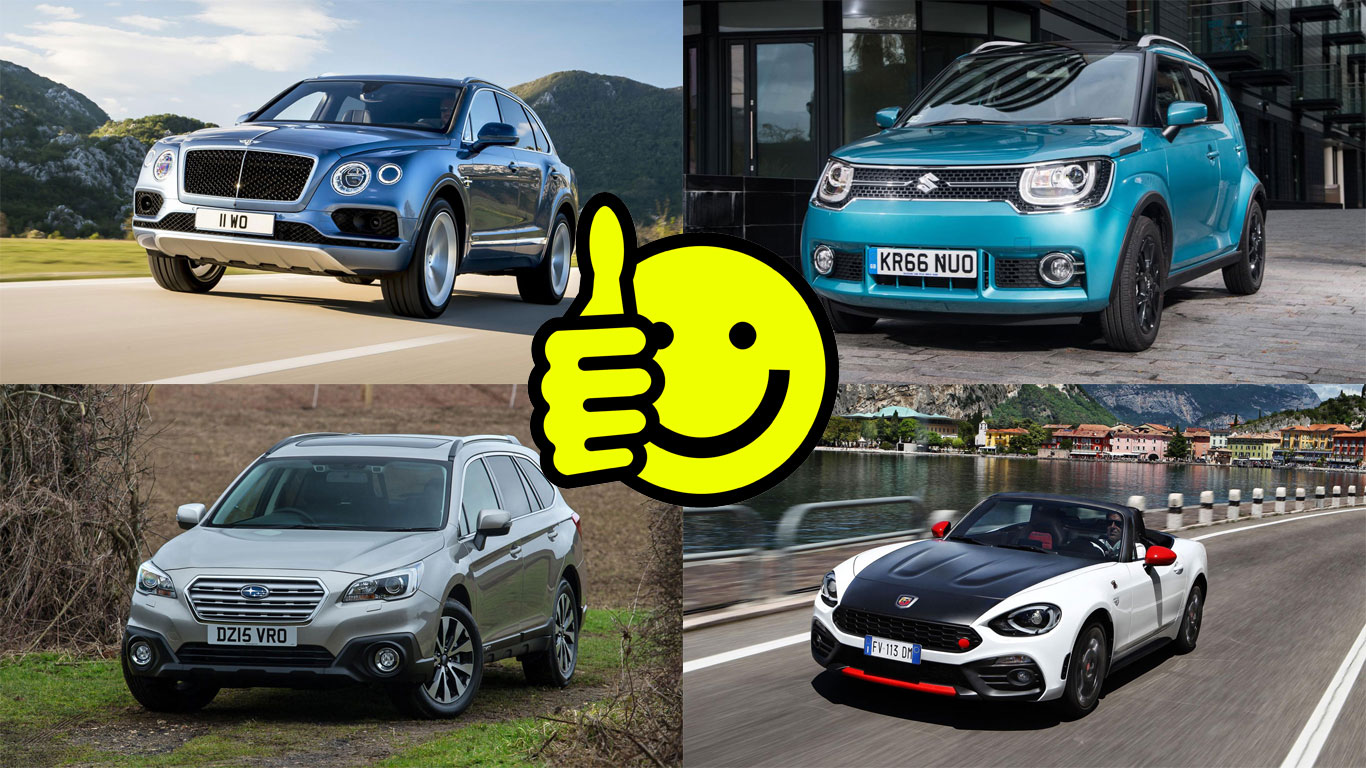 Revealed: Britain's favourite car brands in 2016