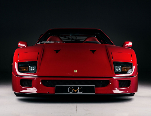 A Ferrari F40 formerly owned by Eric Clapton could be yours