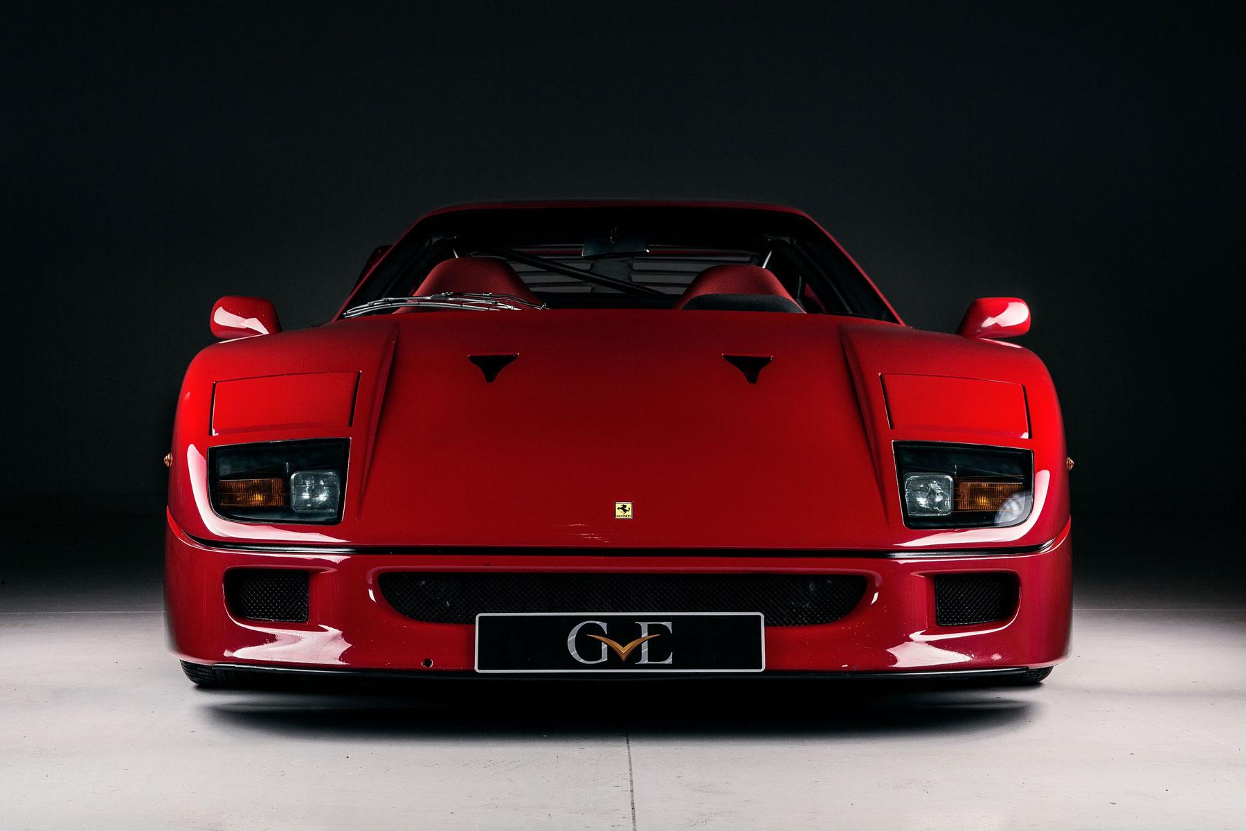 Eric Clapton's Ferrari F40