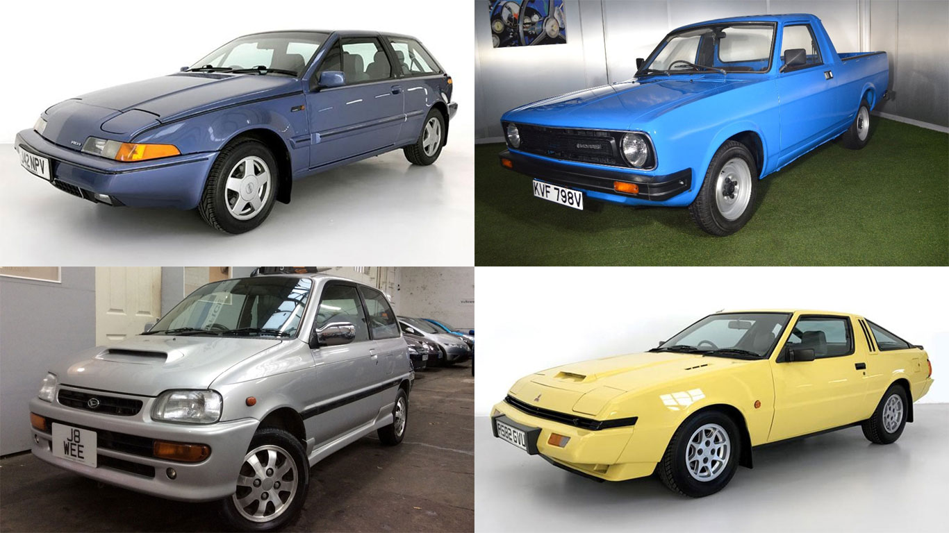 20 quirky classics for sale on auto trader motoring research. Black Bedroom Furniture Sets. Home Design Ideas