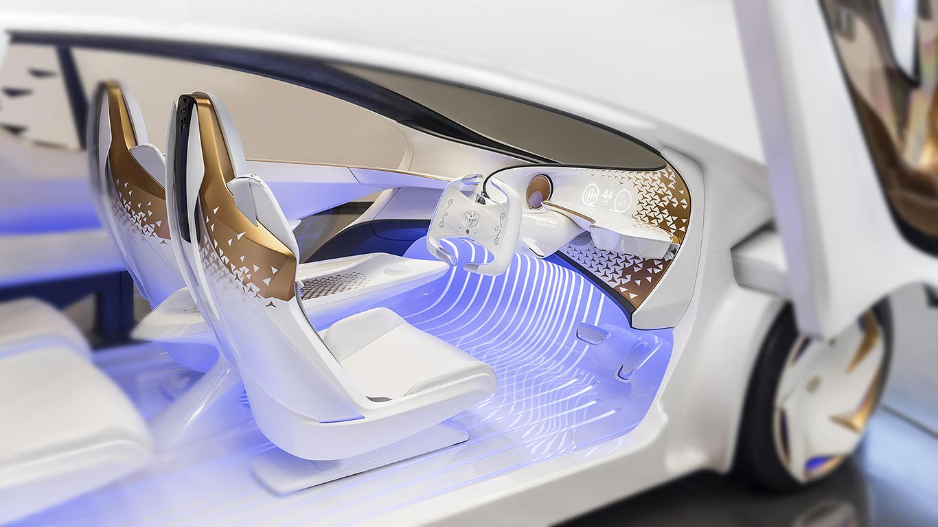 CES 2017 car tech