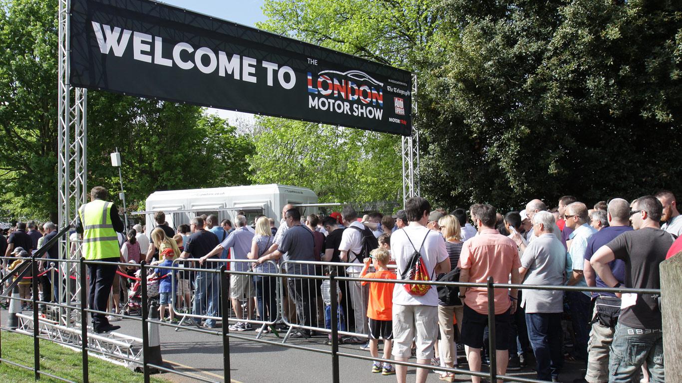 London Motor Show (5 - 7 May)