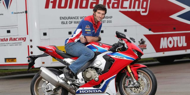 Guy Martin joins Honda Racing