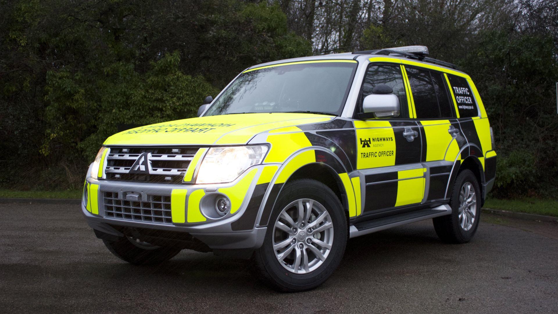 Highways Agency patrol car