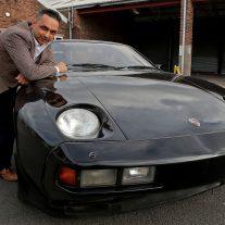 George Harrison's Porsche 928 rescued from the scrapheap