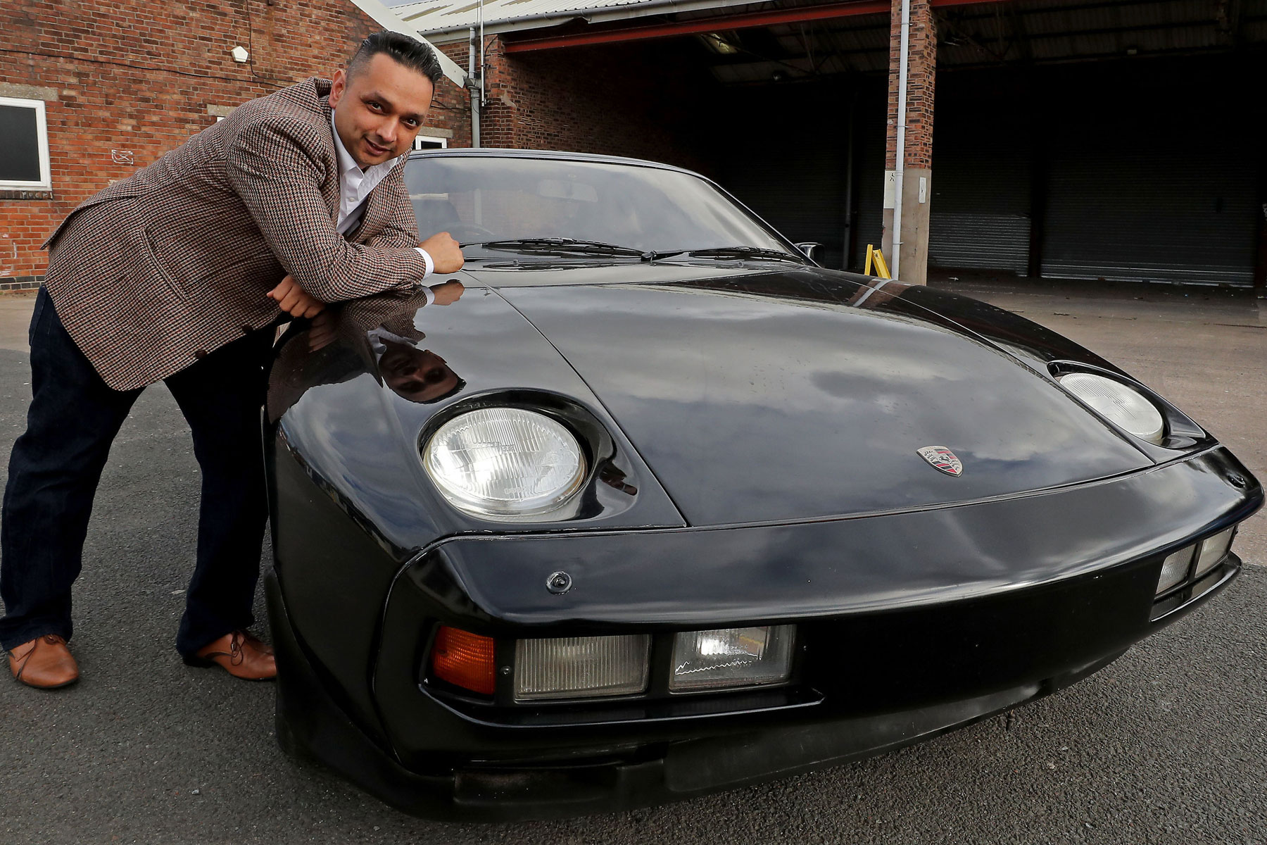 George Harrison's Porsche 928 rescued from the scrapheap