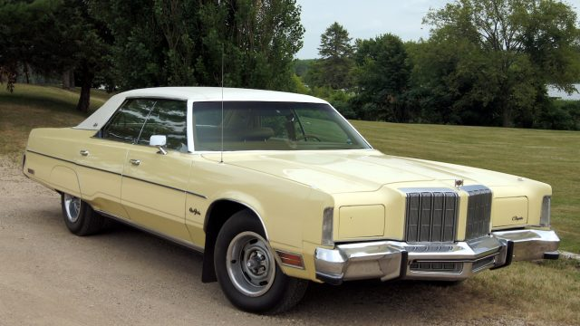 The biggest and most flamboyant American cars