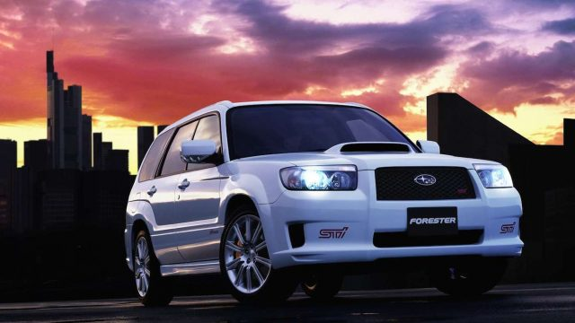 2004 Subaru Forester Sti 20 Seriously Cool Family Cars