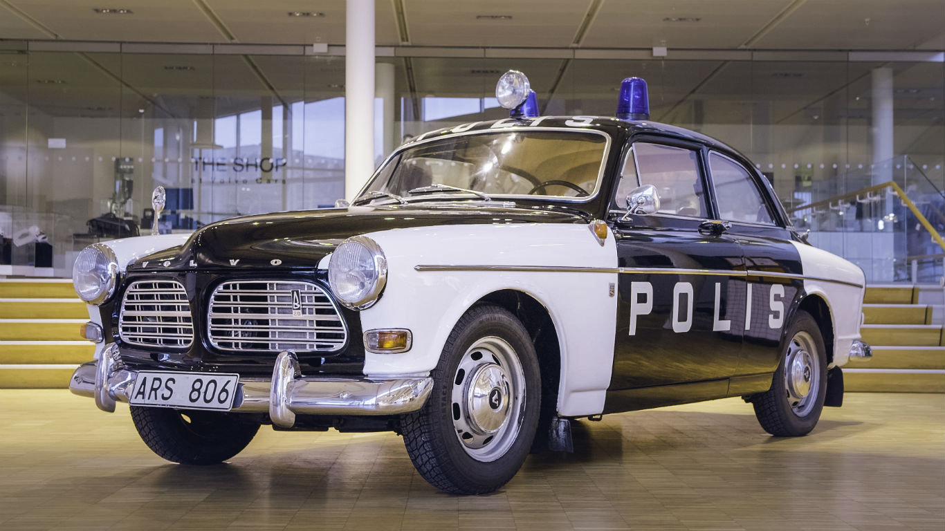 Exclusive We Drive A Volvo V90 Police Car Motoring Research