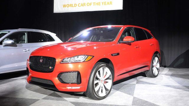 World Car Of The Year 2017: Jaguar F Pace ...