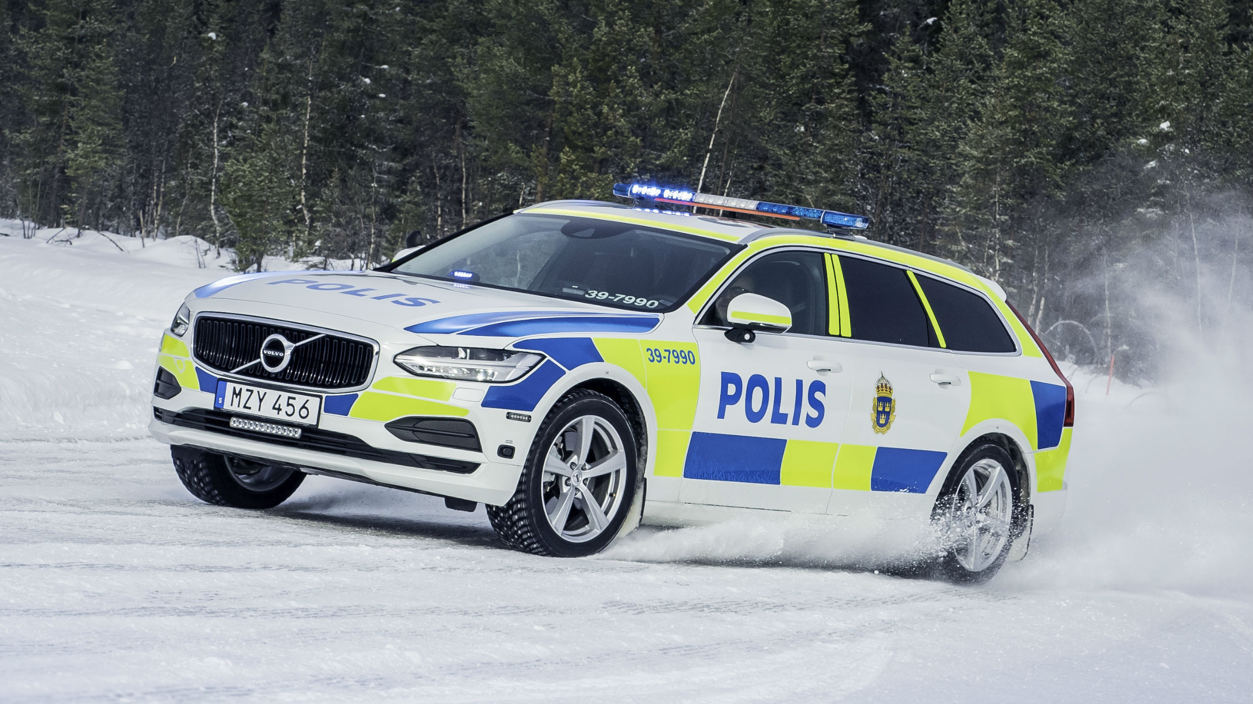 Exclusive: we drive a Volvo V90 police car | Motoring Research