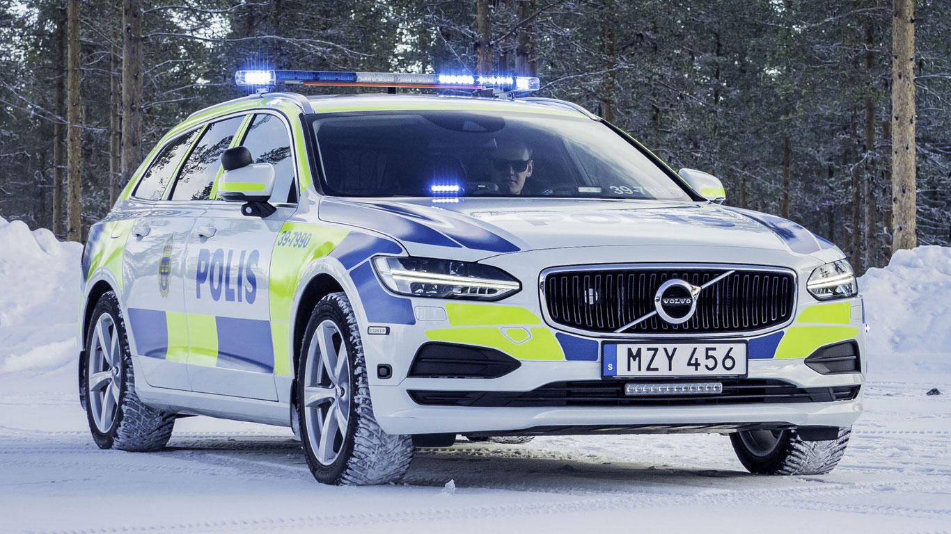 Image result for volvo 90 police