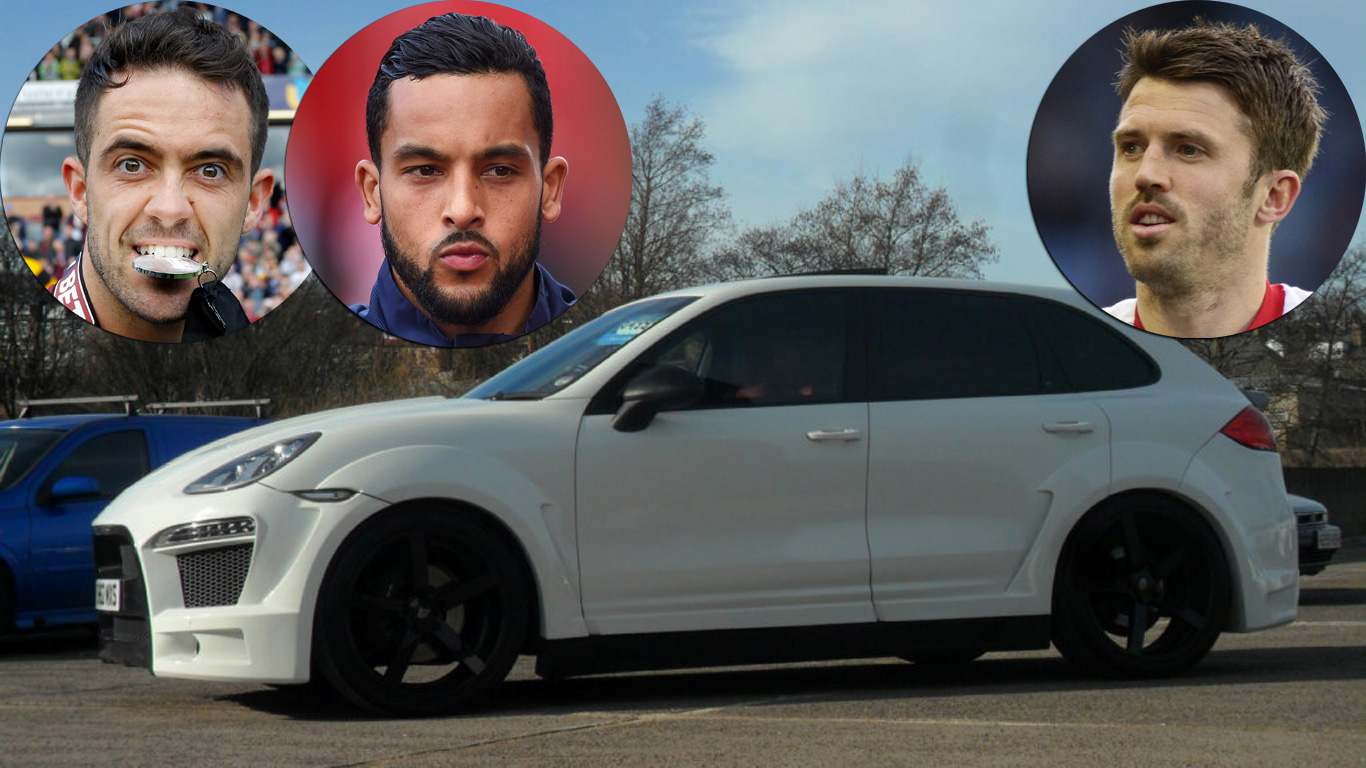 Premier League footballer's star cars on Auto Trader