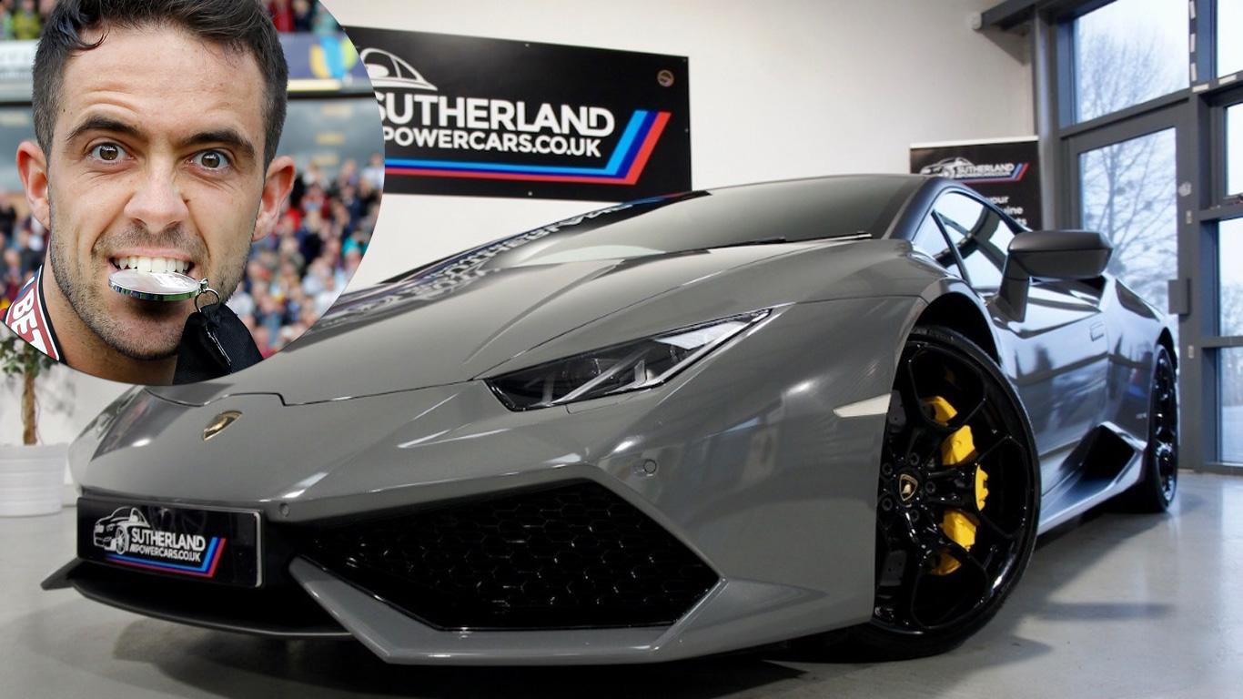 Danny Ings: Lamborghini Huracan
