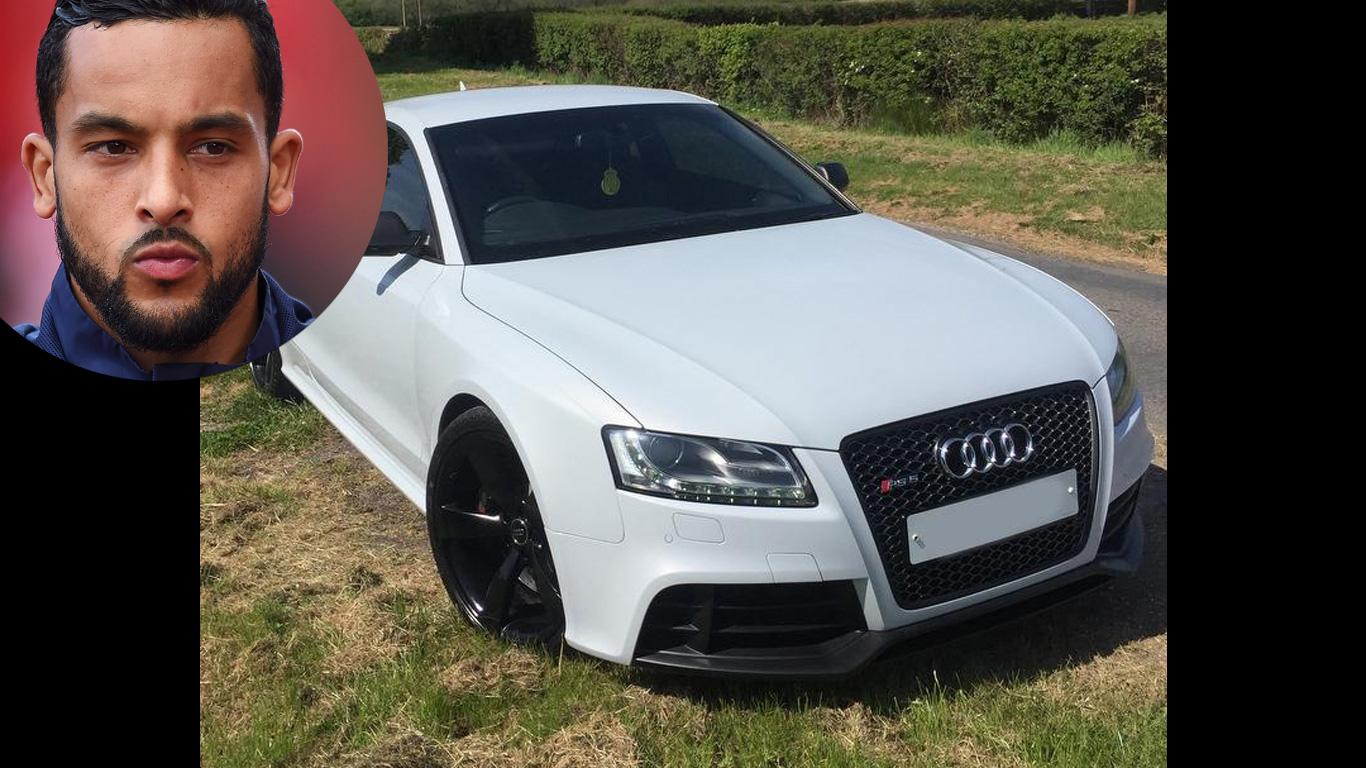Theo Walcott: Audi RS5