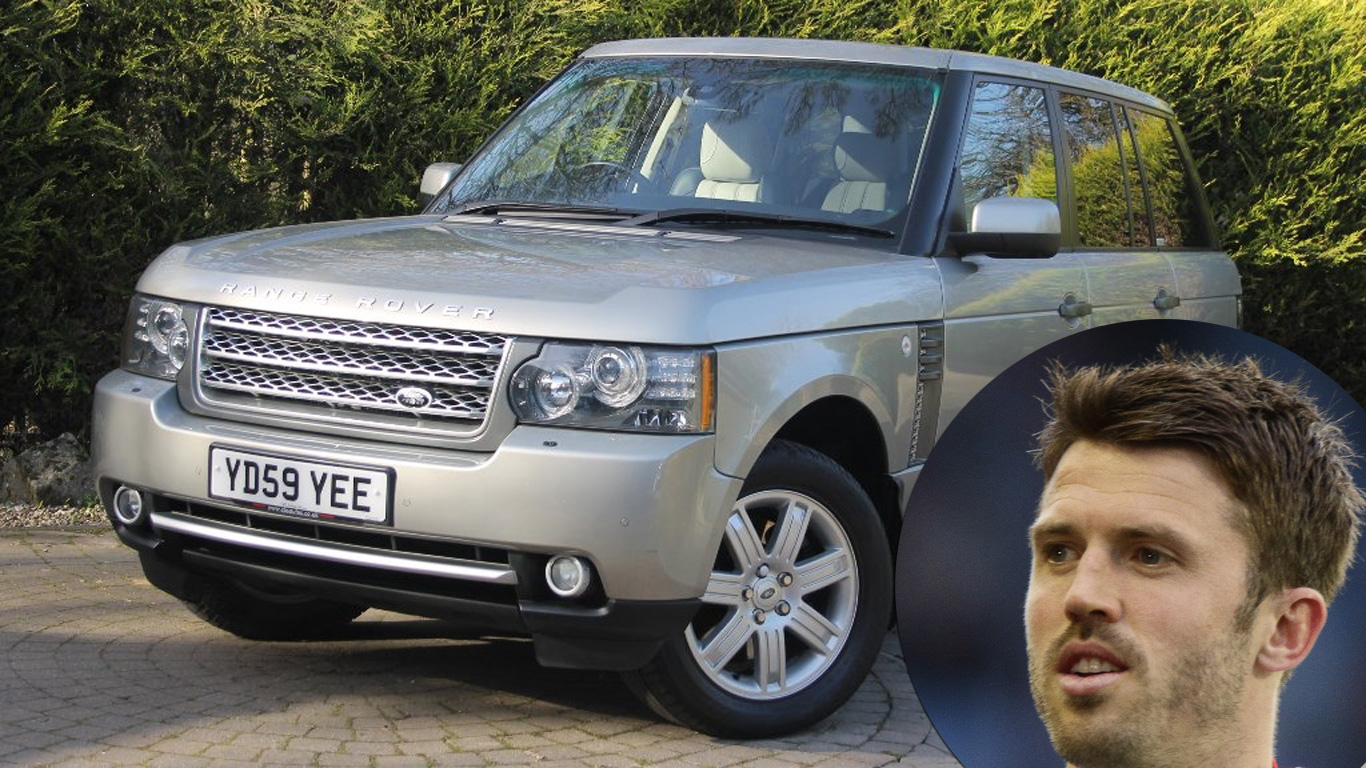 Michael Carrick: Range Rover