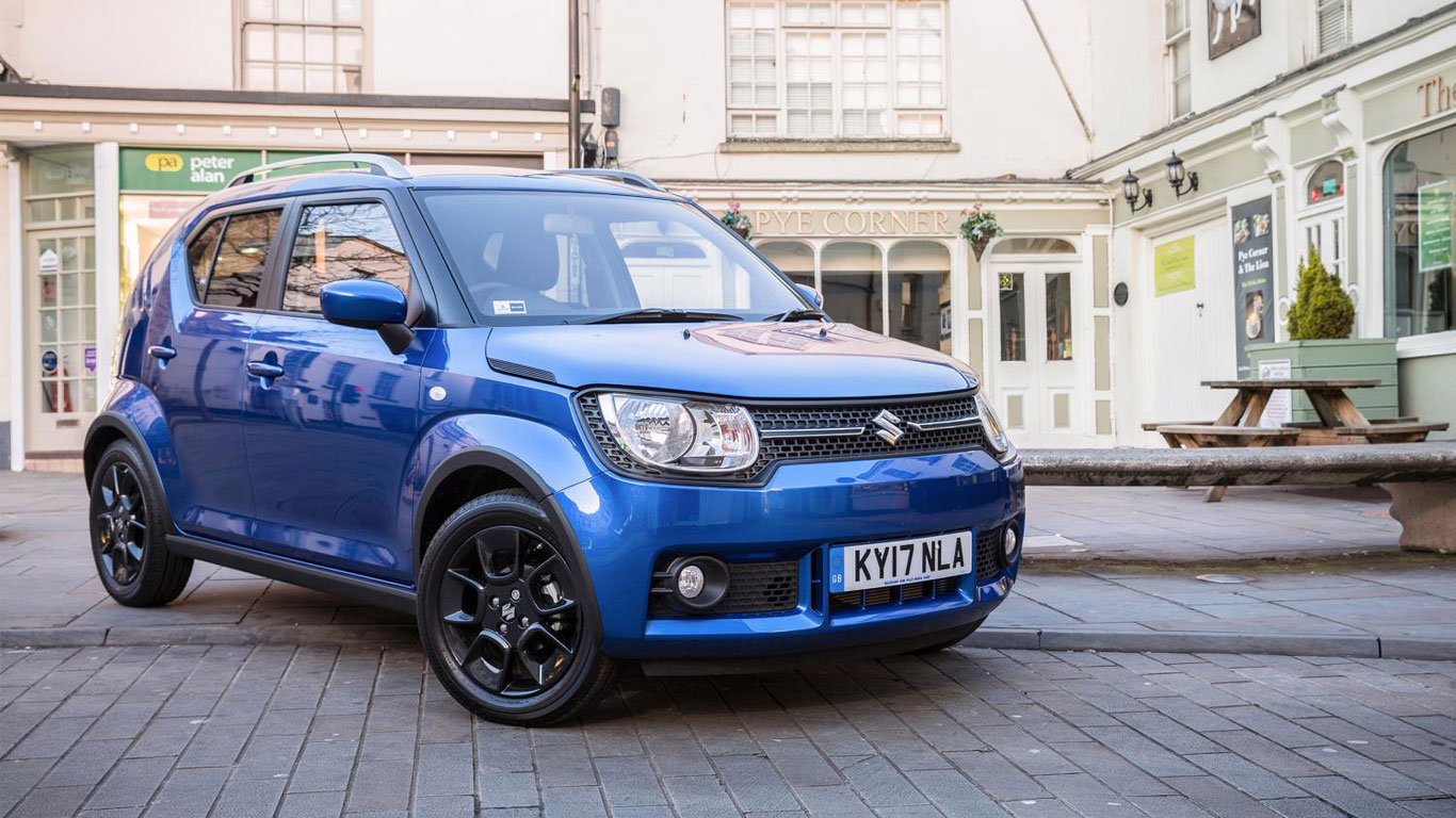 Suzuki Ignis (safety pack)