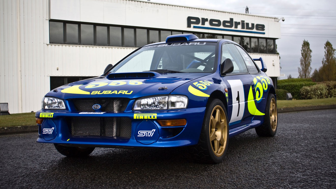 Colin McRae\'s iconic WRC Subaru for sale | Motoring Research