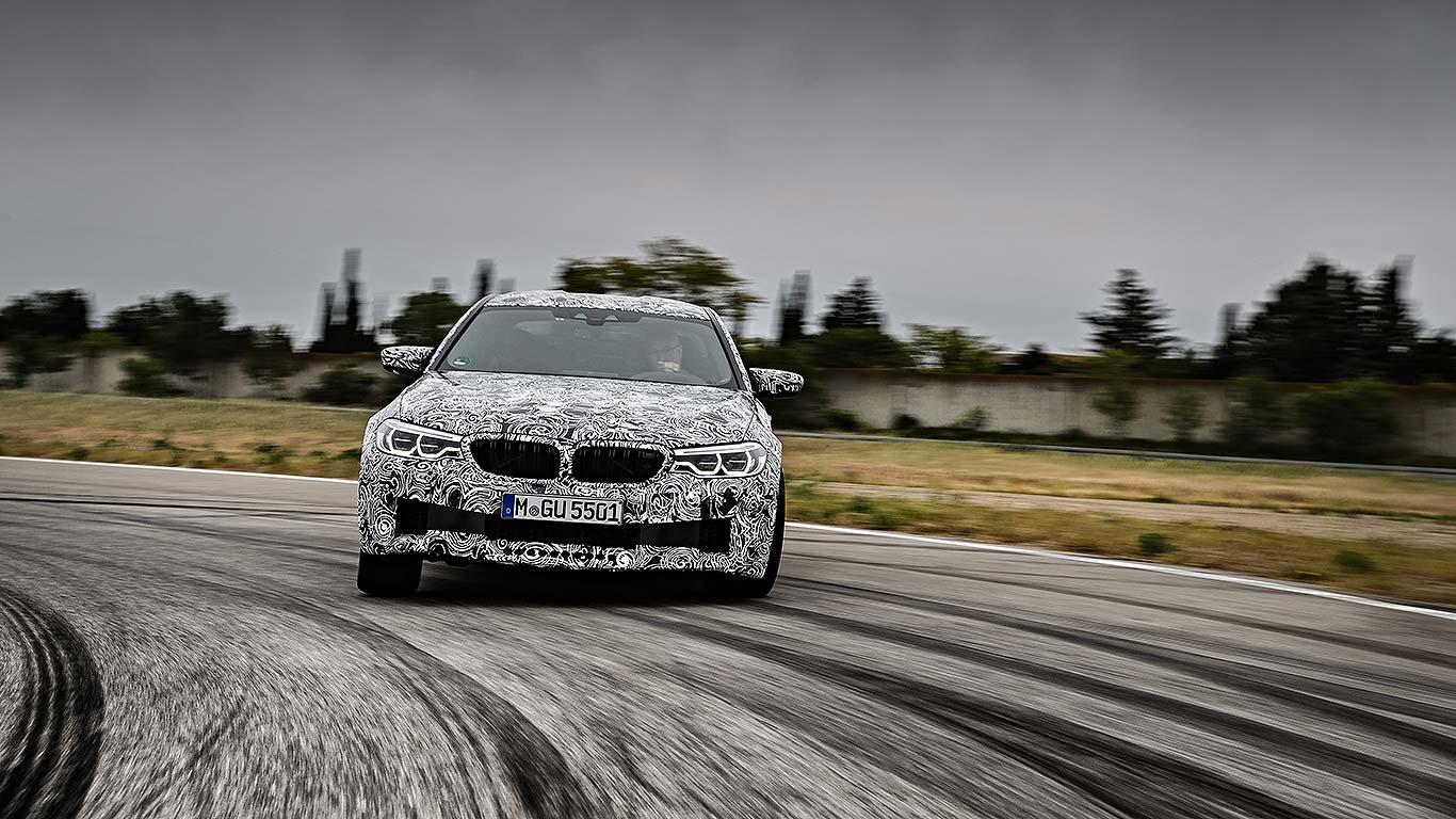2017 BMW M5 4WD