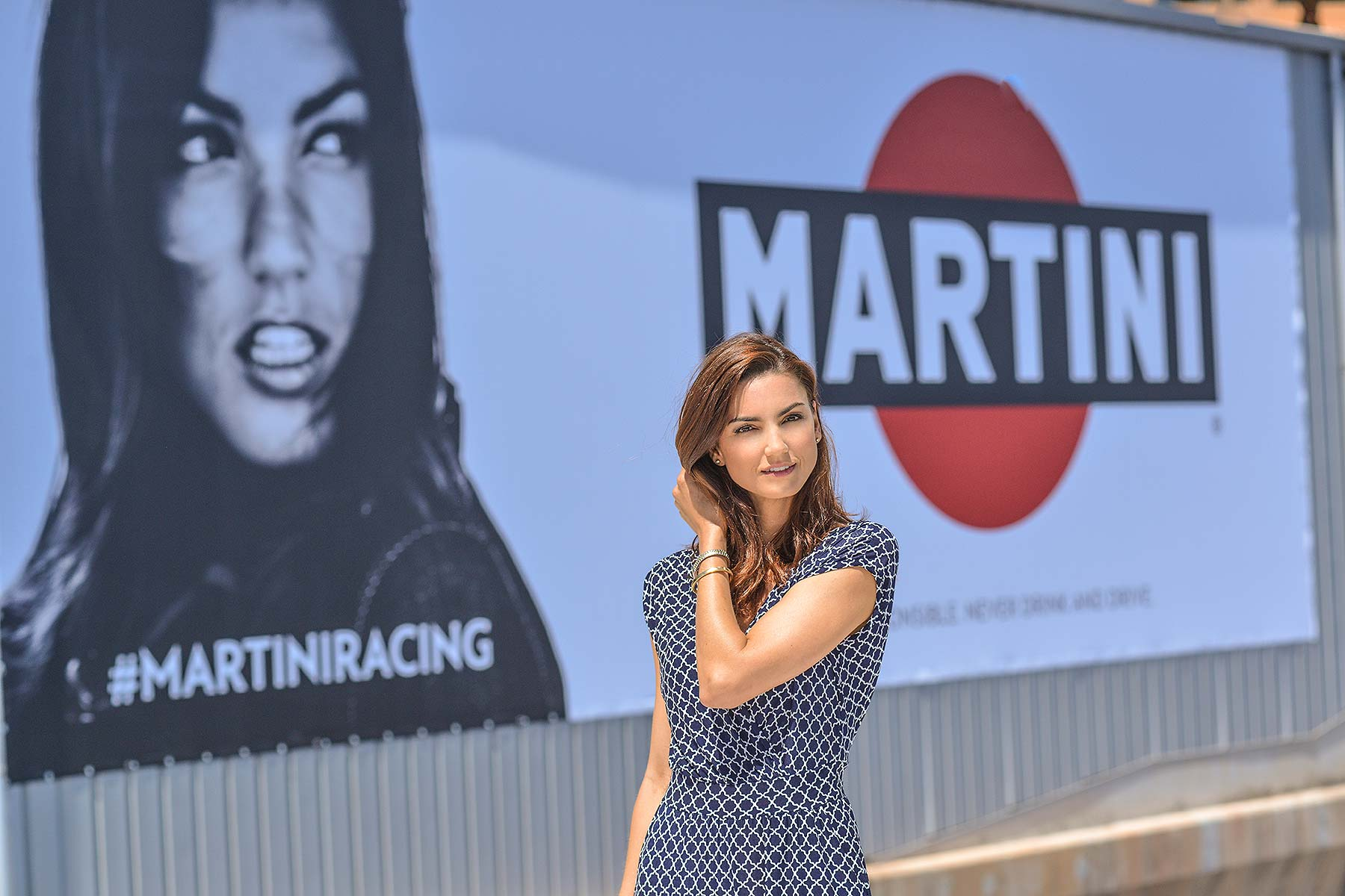 F1 Monaco 2017 Martini poster