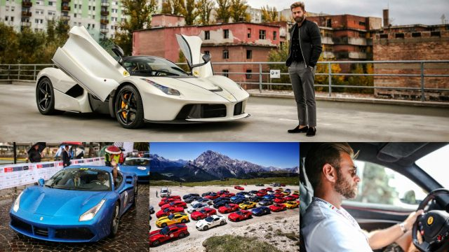 acee2b2ce5 Instagram star s amazing Ferrari collection