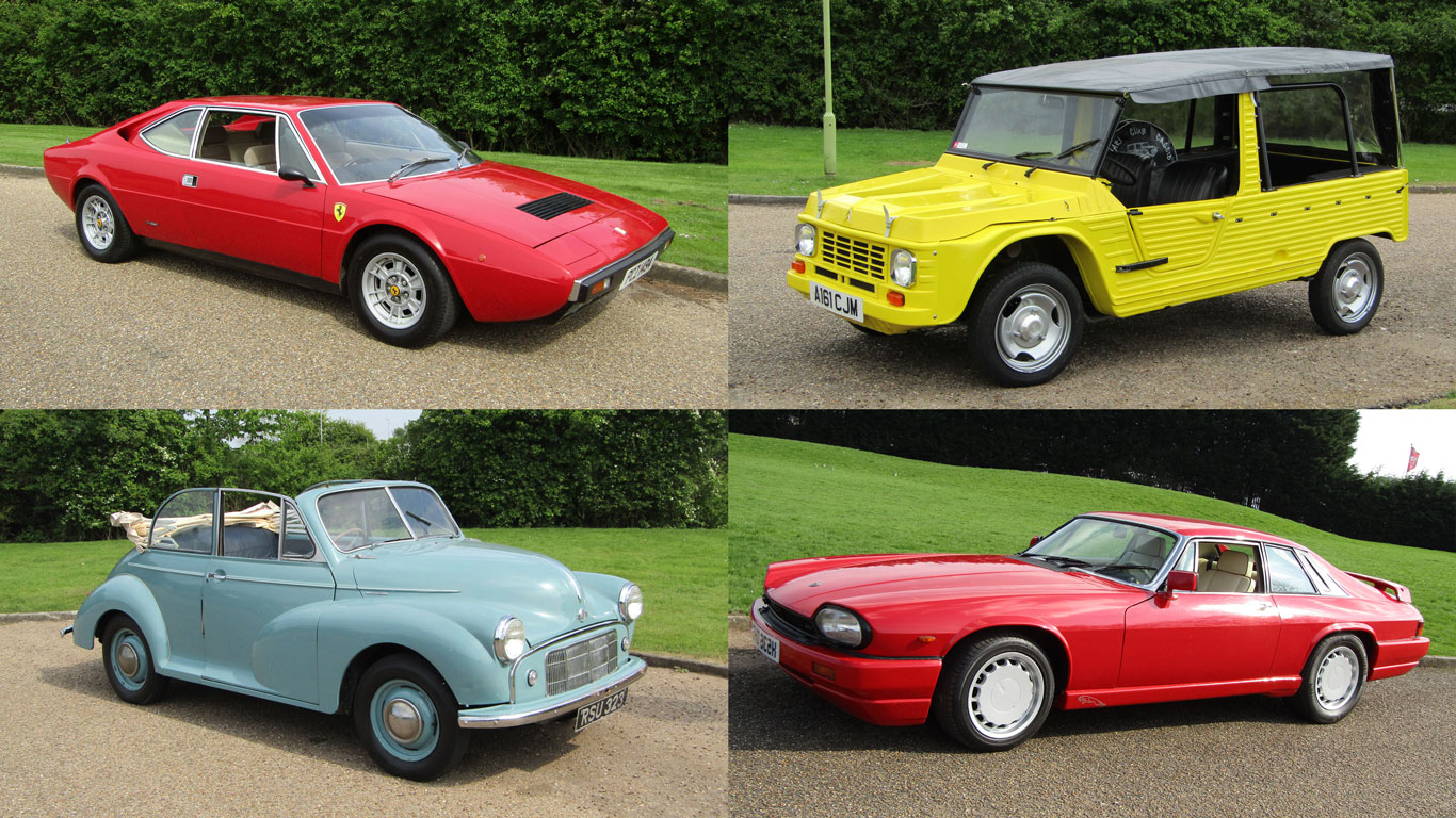 In pictures: Britain's quirkiest classic car auction