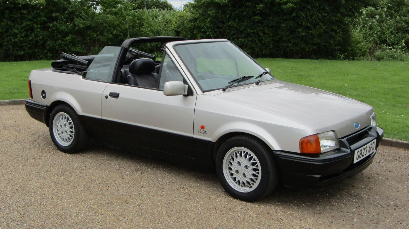 1989 Ford Escort XR3i Cabriolet