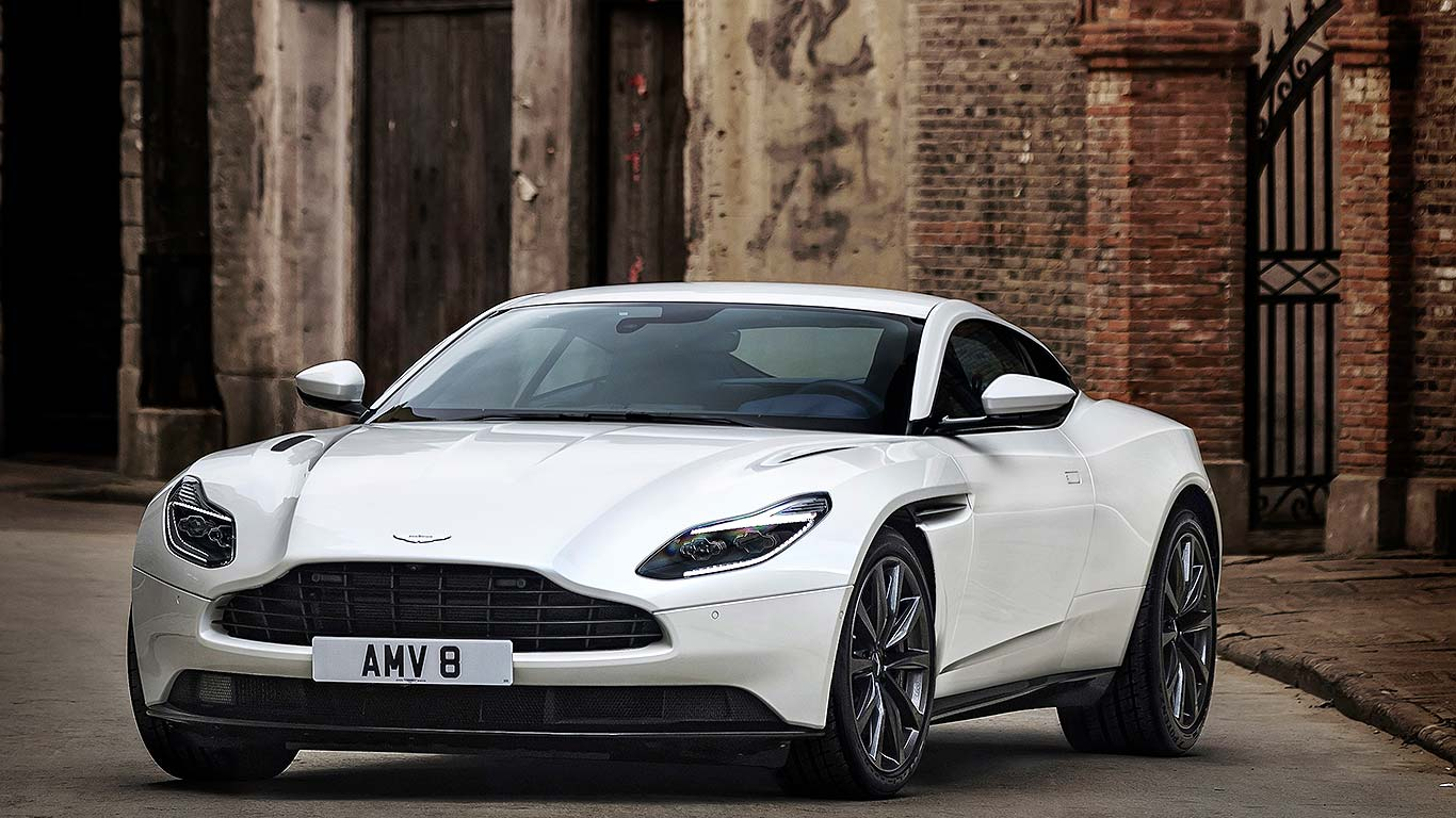 aston martin db11 v8: the mercedes-engined aston | motoring research