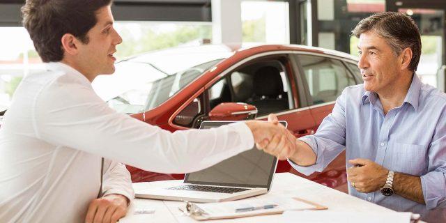 Car finance at a dealer