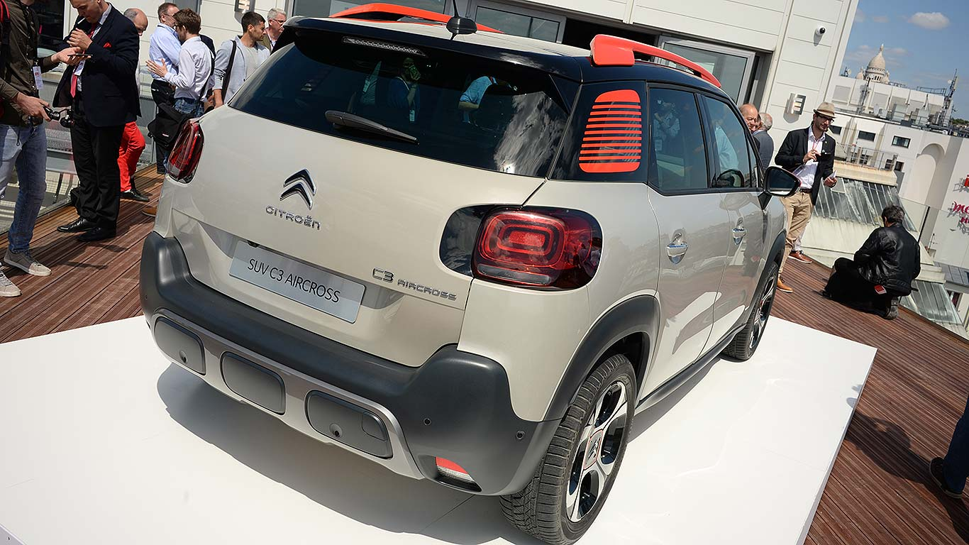 Citroen C3 Aircross 2017 Paris reveal