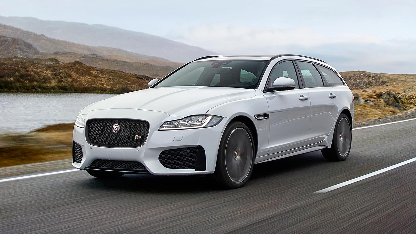 New 2017 Jaguar XF Sportbrake