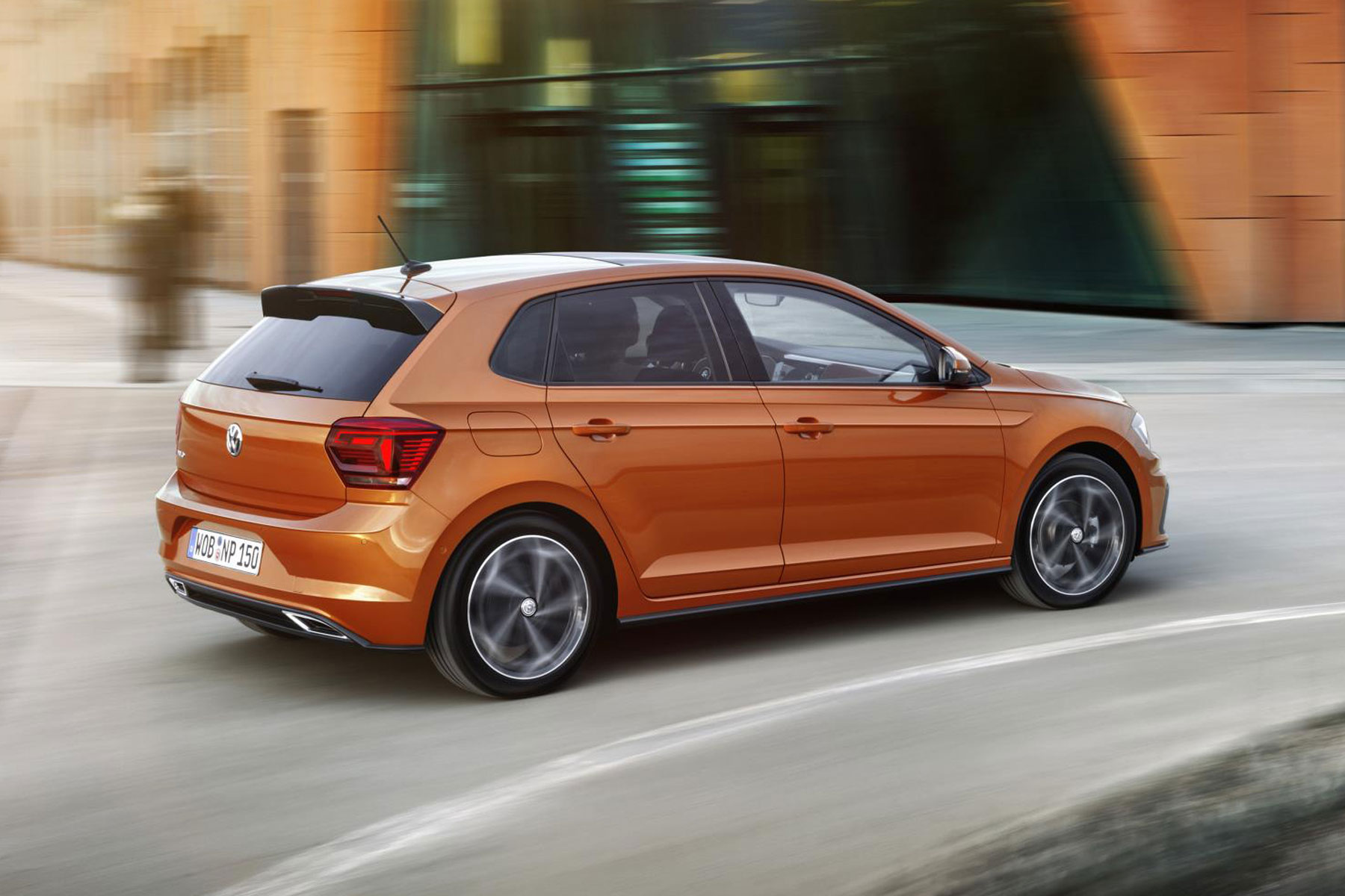 New VW Polo R-Line