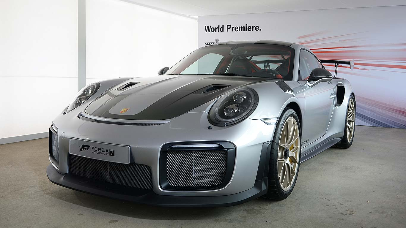porsche 911 gt2 rs is the most powerful 911 ever. Black Bedroom Furniture Sets. Home Design Ideas