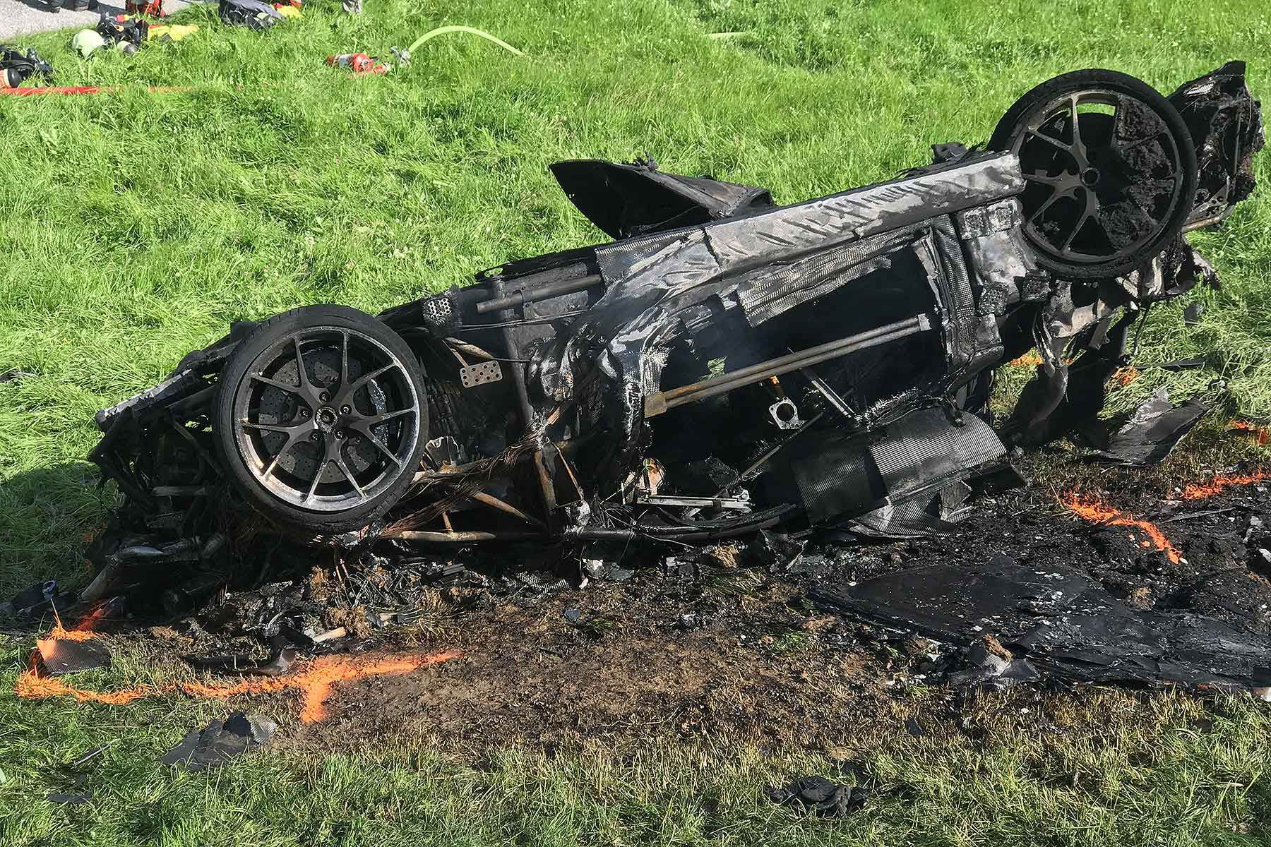 Richard Hammond Rimac supercar crash
