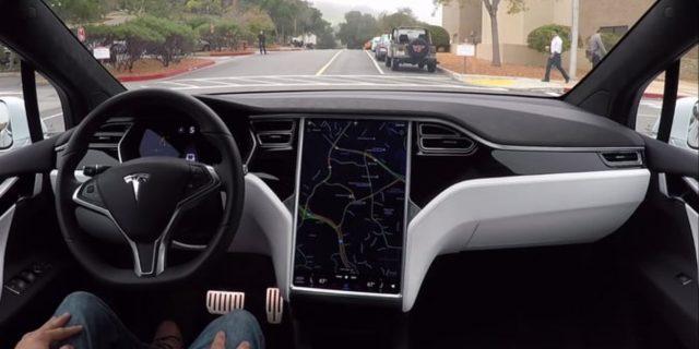 Tesla UK Autopilot