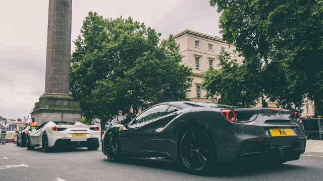 Ferraris take over London