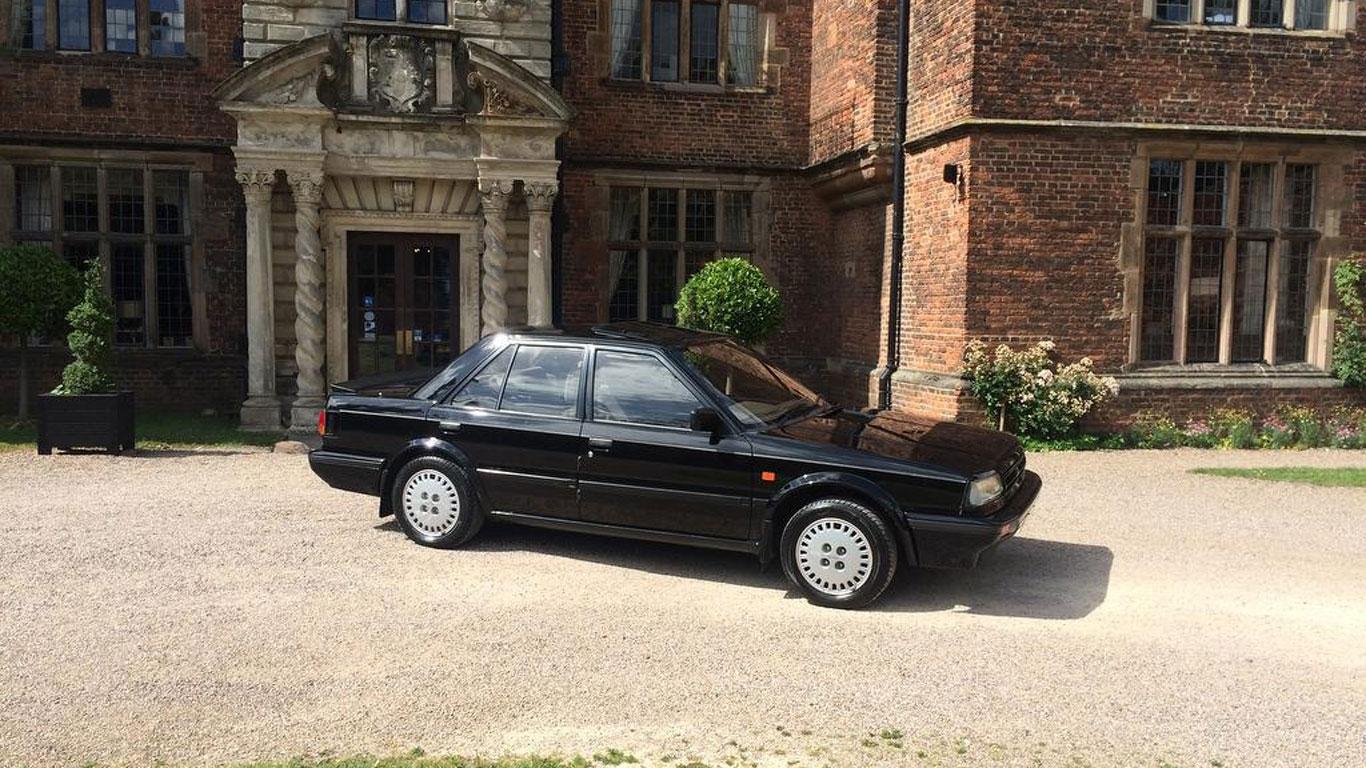Nissan Bluebird 1.8 ZX Turbo: £7,500