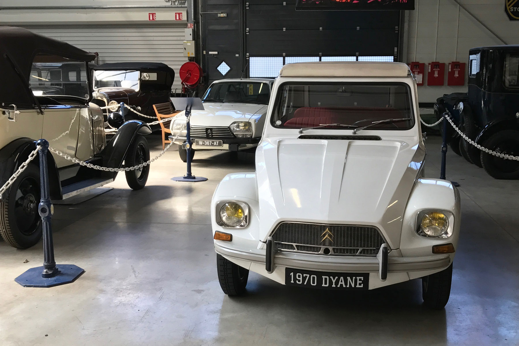 Citroen Dyane and GS